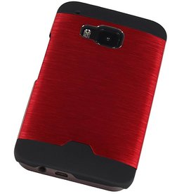 Light Aluminum Hardcase for HTC One M9 Red