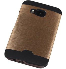 Light Aluminum Hardcase for HTC One M9 Gold