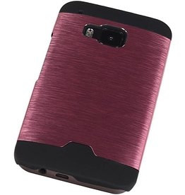 Light Aluminum Hardcase for HTC One M9 Pink