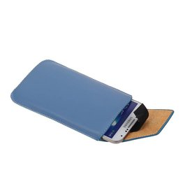 Model 1 Smartphone Pouch Size M (Galaxy S4 i9500) Blue