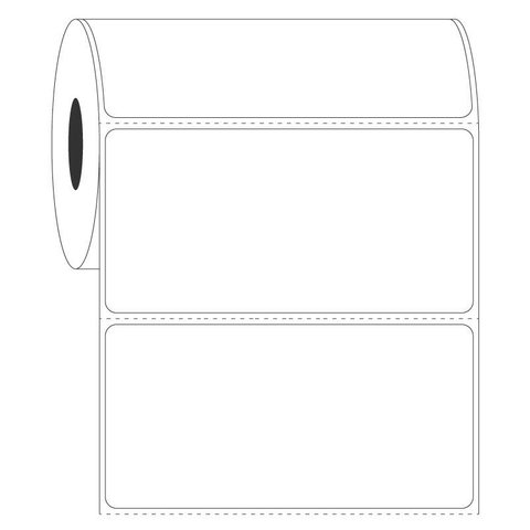 Étiquettes Pour Autoclave À Transfert Thermique - 101,6 x 50,8mm