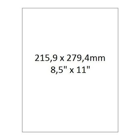 Étiquettes Laser Pour Autoclave - 215,9 x 279,4mm