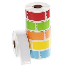 Kryo DYMO Etiketten (Tiefkühl - Etiketten) 25,4 x 54mm - Farbig