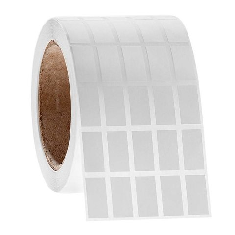 Криогенные Штрих-Код Этикетки - 12,7 x 25,4мм