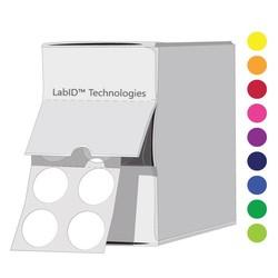 Gekleurde Cryo Etiketten Ø 11mm InDispenserdoos