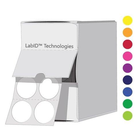 Pastille cryogénique de couleur Ø 13mm en boîte distributrice