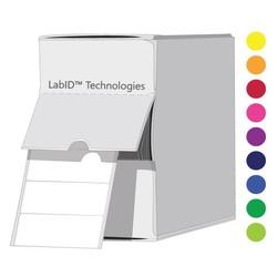 ÉtiquettesCryogéniques DeCouleur26x10mm EnBoîte Distributrice