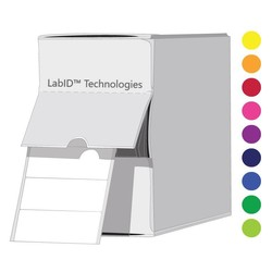 Криогенные Цветные Этикетки 26 х 10 мм ВДиспенсере