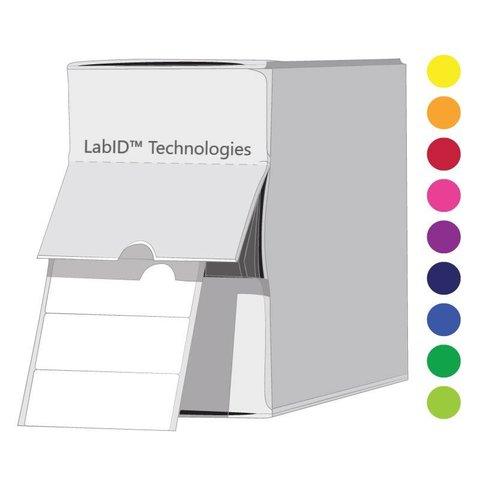 ÉtiquettesCryogéniques De Couleur - 26x10mm