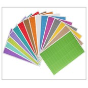 Rectangular Coloured Labels