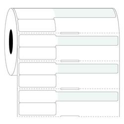 Étiquettes Pour Seringues - 38 x 25,4mm + 63,5mm / Transfert Thermique