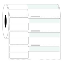 Syringe Labels - 38 x 25.4mm + 63.5mm / Thermal Transfer