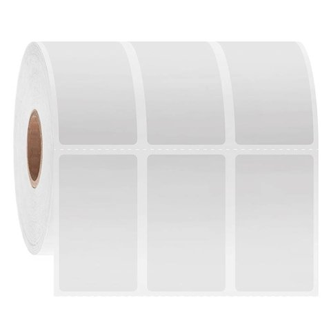 Cryo Removable Labels - 25.4 x 44.5mm / Thermal Transfer