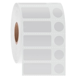 Cryo Barcode Labels - 31.8 x 12.7 + Ø 11.1mm / Thermal Transfer