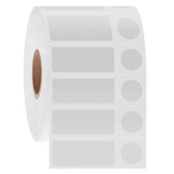 LabID™ - Криогенные Штрих-Код Этикетки 31,8х12,7мм+Ø11,1мм