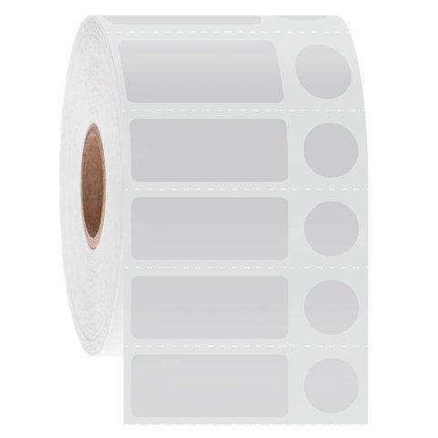 Cryo Barcode Labels - 31.8 x 12.7mm + Ø11.1mm