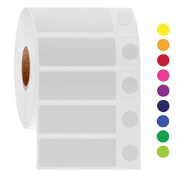 LabID™-Kryo Barcode-Etiketten 44x 16 + Ø 9,5mm