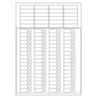 LabID™ - Étiquettes Cryogéniques - Combi-Feuilles / A4