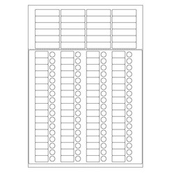 Cryo Labels  For Laser Printers - Combi-Sheets / A4