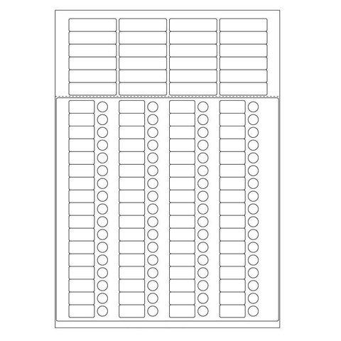 Étiquettes Cryogéniques - Combi-Feuilles / A4