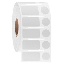 Diepvries Etiketten - 23,9 x 12,7 + Ø 11,1mm / Afneembaar