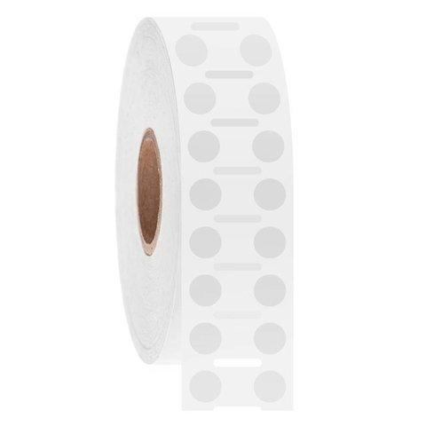 Cryo Barcode Etiketten - Ø 6,4mm / Rond