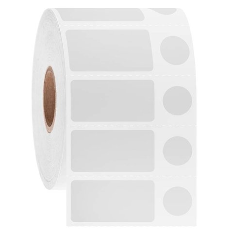 Cryo barcode etiketten 31,8 x 16 + Ø 11mm