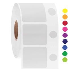 LabID™ - Kryo Barcode Etiketten - 30,2 x 25,4 + Ø 9,5mm