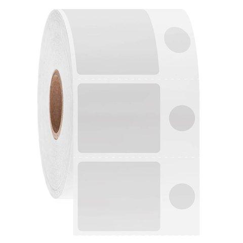 Kryo Barcode Etiketten - 30,2 x 25,4mm + Ø9,5mm