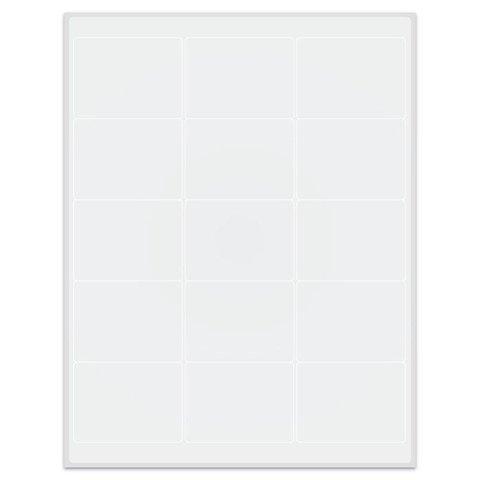 Криогенные Лазерные Етикетки 68,3 x 50,8мм (Формат US Letter)
