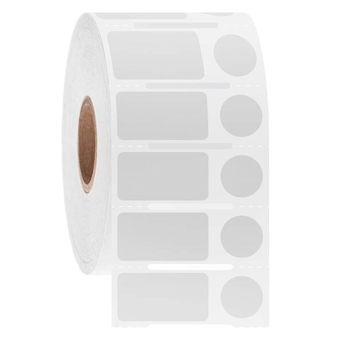 Étiquettes Cryo À Code-Barres - 23,9 x 12,7mm + Ø 11,1mm