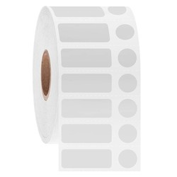 Cryo Barcode Labels - 25.4 x 9.5 + Ø 9.5mm / Thermal Transfer
