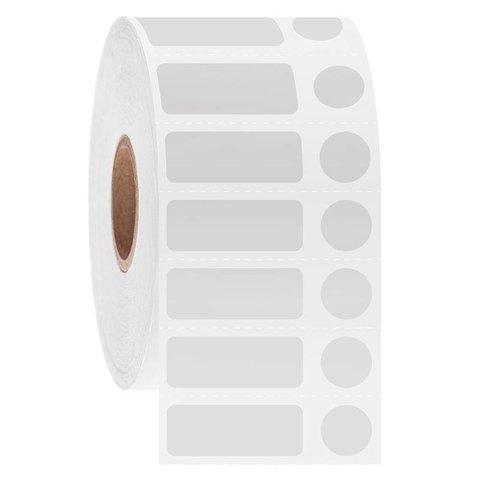 Cryo Barcode Etiketten - 25,4 x 9,5mm + Ø9,5mm
