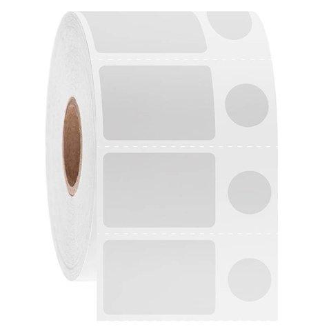 Kryo Barcode Etiketten - 28,6 x 19,1mm + Ø11,1mm