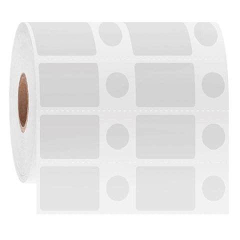 Cryo Barcode Etiketten - 28,6 x 19,1mm + Ø11,1mm