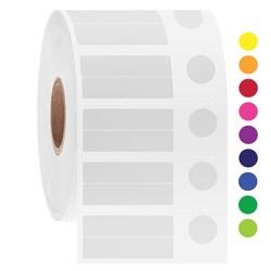 LabID™ - Étiquettes Cryo À Code-Barres - 30x 7,1 + Ø 9,4mm
