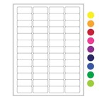 Cryo Labels For Laser Printers - 45 x 20mm (US Letter Format)
