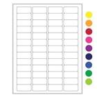 ÉtiquettesCryogéniques Pour Imprimantes Laser - 45 x 20mm (Format US Letter)