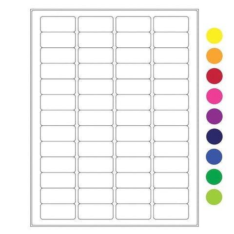 Étiquettes Cryogéniques - 45 x 20mm / Pour Imprimantes Laser (Format US Letter)