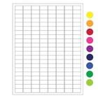 ÉtiquettesCryogéniques Pour Imprimantes Laser-23,9x12,7mm/ Amovible (US-Letter)