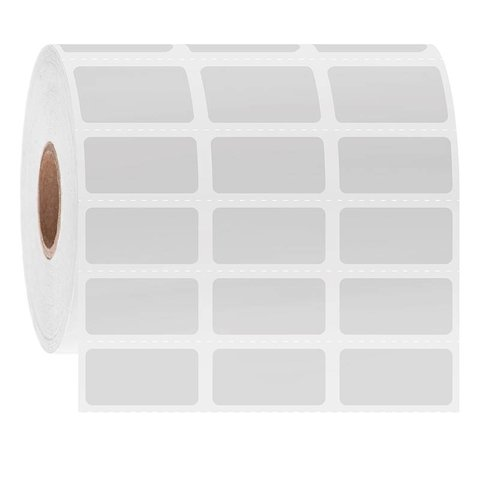Étiquettes Cryogéniques À Code-Barres - 25,4 x 12,7mm