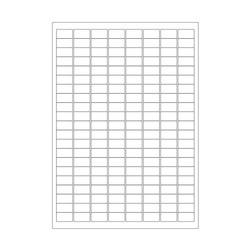 Криогенныелазерные этикетки 23 х 13мм (формат А4)
