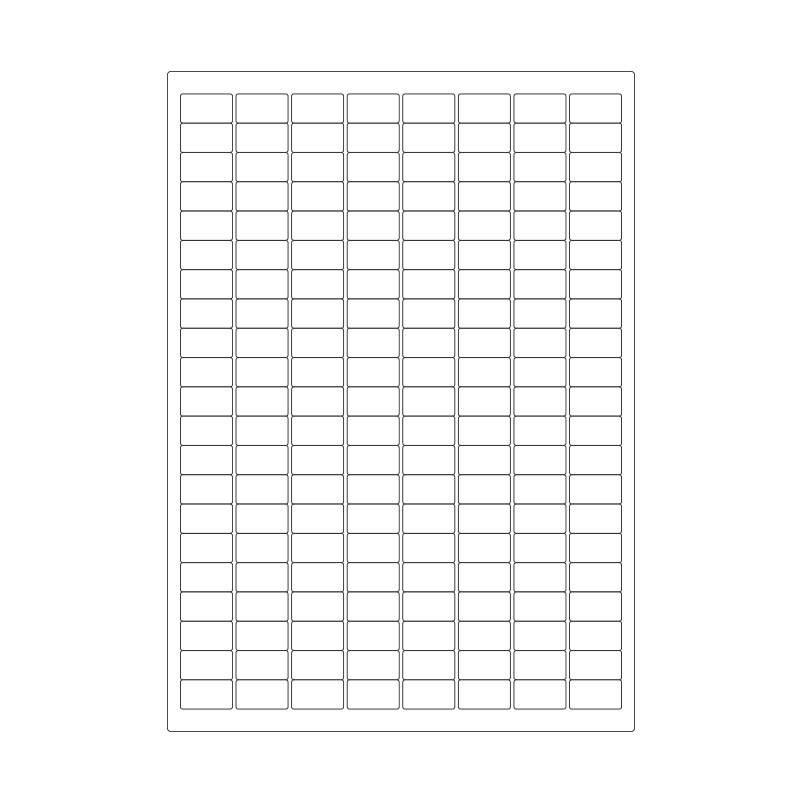 Cryo Labels On Sheets For Laser Printers 23mm X 13mm A4 Format