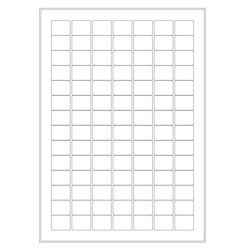 Cryo labels on sheets for laser printers 24 x 19mm (A4 format)