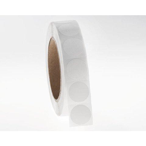 Cryo barcode etiketten Ø 25,4mm (rond)