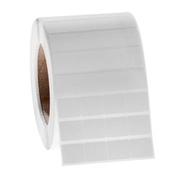 Xylol&Lösungsmittel- Beständige Etiketten 21,8 x 19,1mm