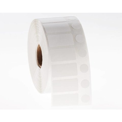 Étiquettes Cryo à code - barres 36 x 14 + Ø 10mm