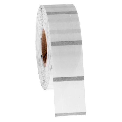 Transparente Kryo-Etiketten 12,7 x 25,4mm
