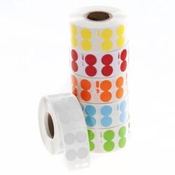 DTermoID ™ - DYMO совместимы прямая термопечать бумажных этикеток Ø 13 мм