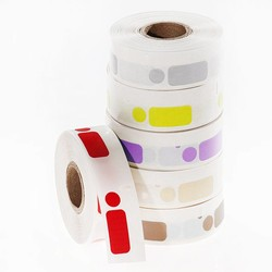 DTermoID ™ - DYMO совместимы прямая термопечать бумажных этикеток 26 х 12,7 + 9,5 мм Ø